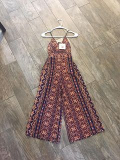 Polyester Brand Pants Romper NWT!