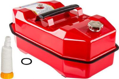 Buy RED 5.3 GALLON STEEL GAS STORAGE TANK-METAL OUTBOARD BOAT JERRY FUEL CAN SFT-5.3 motorcycle in West Bend, Wisconsin, US, for US $69.99