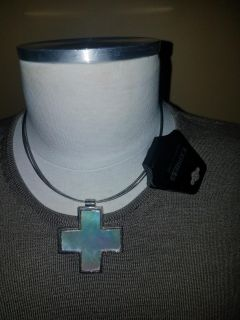Brand new Express cross necklace
