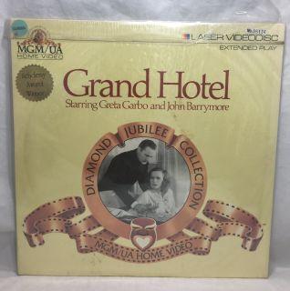 GRAND HOTEL Laserdisc Greta Garbo and John Barrymore