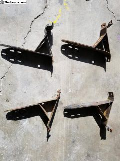 68 up bug bumper brackets
