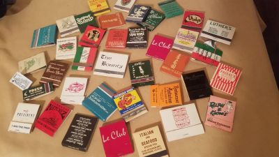 Vintage and very vintage lot of Matchbooks of New Orleans Places