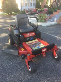 Toro Zero Turn Riding Lawnmower