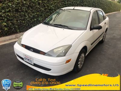2004 Ford Focus LX (Cloud 9 White)