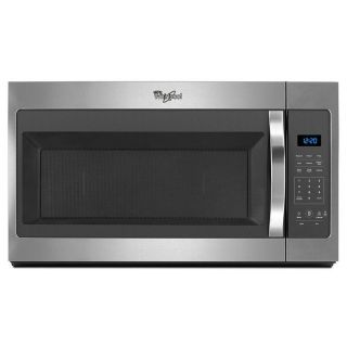Whirlpool 1.7-cu ft Over-the-Range Microwave (Stainless Steel) (Common: 30-in; Actual: 30-in)