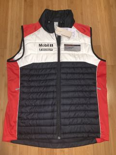 Porsche Driver Selection Motorsport Collection Vest Medium Brand new