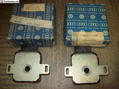NOS and used throttle valve switches