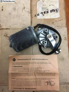 NOS Wiper Motor SWF (211 955 113 H) West German
