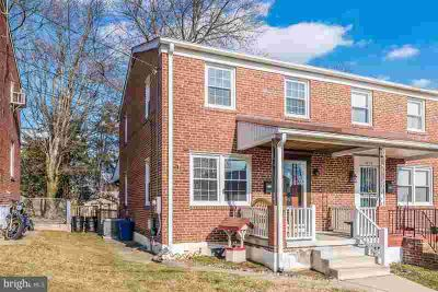 2810 Topaz Rd BALTIMORE Four BR, End of group brick townhouse