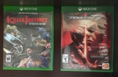 Xbox one fighting games