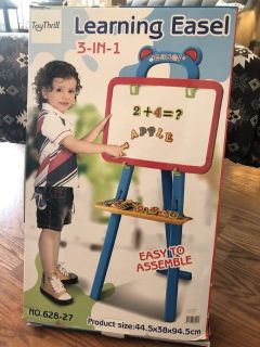 NEW ToyThrill 3-in-1 Learning Easel