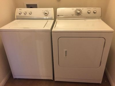 Washer and dryer - price for both