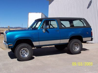 1975 Dodge Ramcharger