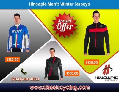 Winter Clearance | Exclusive Offer on Hincapie Men Jersey by Classic Cycling