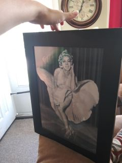 3d Marilyn Monroe Picture