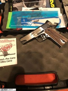 For Sale: Kimber Eclipse Pro II 1911 45