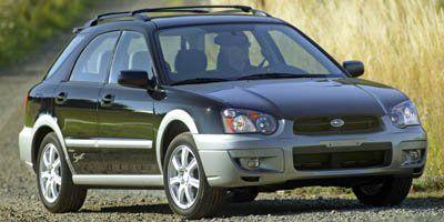 2005 Subaru Impreza Outback Sport (Red Jewel Tintcoat)