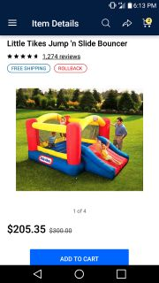 Fisher price bouncy house