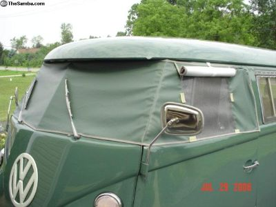 56-67 BUS Windshield cover W/WO Screens