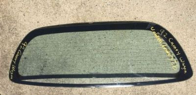 Buy 1992 Camry Toyota Wagon Liift Gate Deck Lid Trunk Rear Back Window Glass motorcycle in East Bridgewater, Massachusetts, United States, for US $199.99