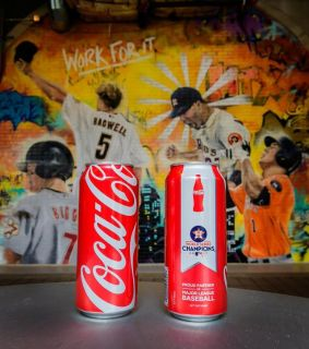 ASTROS World Series Special Limited Edition Coca-Cola COKE Can - NEW!