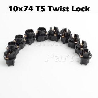 Find 10xPC74 Twist Sockets 37 74 Instrument Panel Cluster Plug Lamp Dash Light Bulb motorcycle in Cupertino, CA, US, for US $10.55