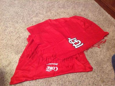 St. Louis Cardinals promotional scarf/shawl
