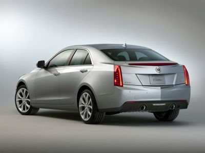 2013 Cadillac ATS 2.0T Luxury (Thunder Gray ChromaFlair)