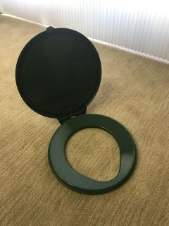 Reliance Luggable Loo Toilet Seat and Lid - great for camping