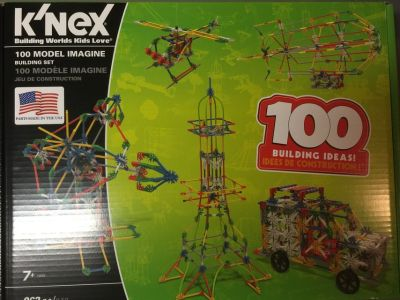 BRAND NEW K'nex 100 Model Imagine with MOTOR