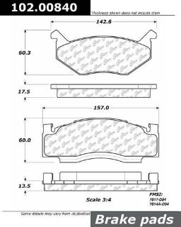 Find CENTRIC 102.00840 Brake Pad or Shoe, Front-C-TEK Metallic Brake Pads-Preferred motorcycle in Saint Paul, Minnesota, US, for US $15.68