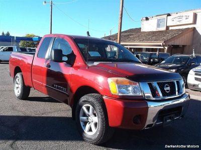 2008 Nissan Titan XE (Red)