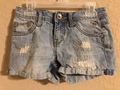 Justice Jean Shorts. Perfect Like New Condition. Size 10- FIRM