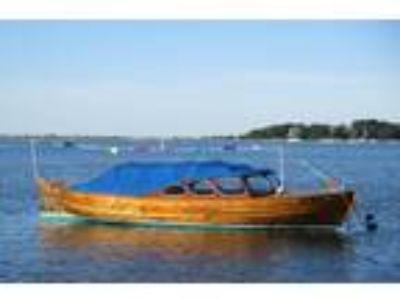 22' Custom Snekke Norwegian picnic boat 1957