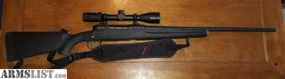 For Sale/Trade: Like New Savage Axis 308 caliber with Leopold VX2 3-9 40 scope and sling.