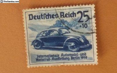1939 Berlin automobile show Deutsches Reich STAMP