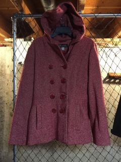 Super cute Mudd coat perfect for winter. Size lg. Great cond. no pilling.
