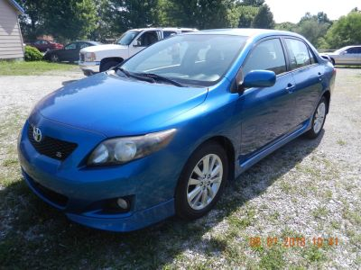 2010 Toyota Corolla Base (Blue)