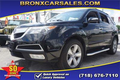 2010 Acura MDX AWD 4dr Technology Pkg (Crystal Black Pearl)