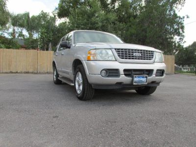 2002 Ford Explorer Limited (Silver)