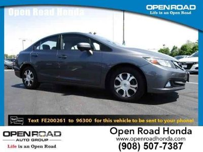 Used 2015 Honda Civic Hybrid 4dr Sdn L4 CVT w/Leather PZEV