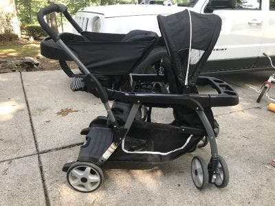 Graco sit and stand double stroller $50.00