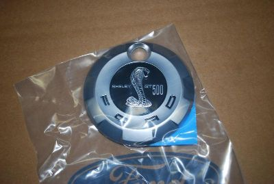 Buy 2007 - 09 Mustang Shelby GT500 faux fuel cap BRAND NEW FORD Decklid emblem motorcycle in Plymouth, Michigan, US, for US $45.98