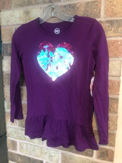Brand new sequin top size 7/8