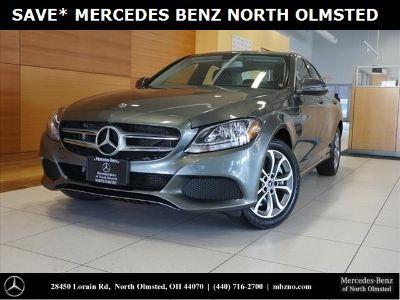 2018 Mercedes-Benz C-Class C 300 (Selenite Gray Metallic)