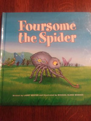 Hardcover Foursome the Spider, EXCELLENT USED CONDITION