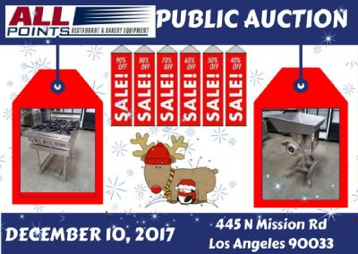 Auction open to the public