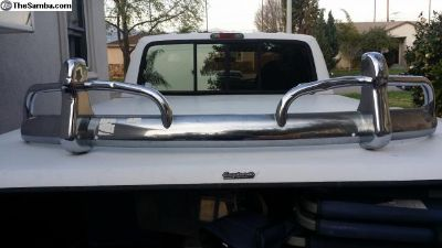 1967 only front & rear bumper set
