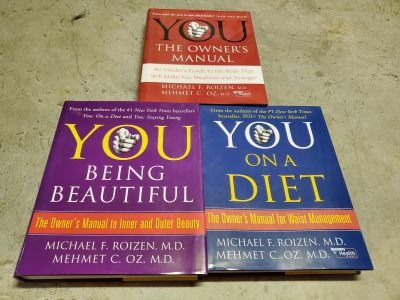 Set of 3 hardcover Dr. Oz books