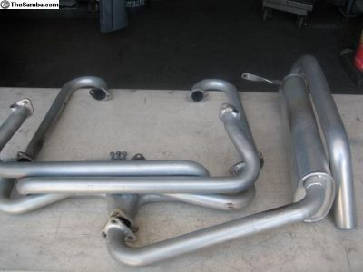 Thing headers hideaway muffler